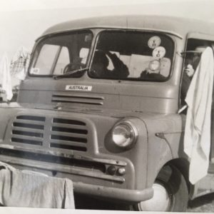 A Bedford that travelled Europe and the UK on a working holiday with six Aussies in the 1970s. www.gypsyat60.com