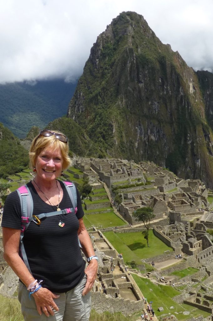 At the top of Machu Picchu, the lost Inca city. www.gypsyat60.com
