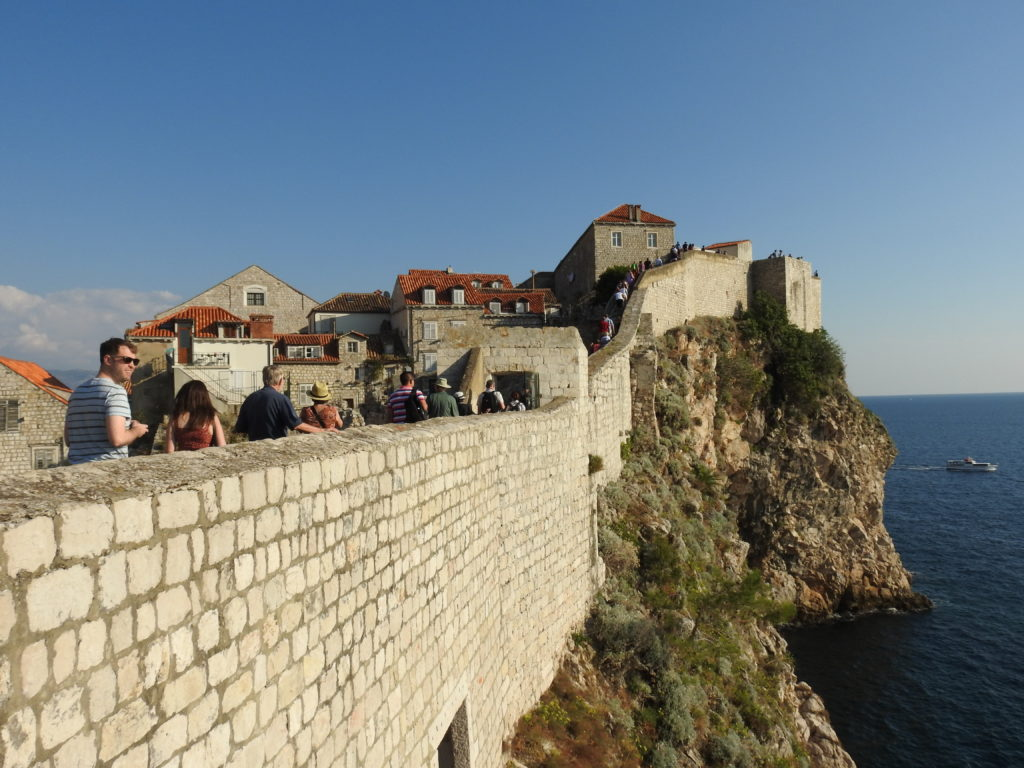 Walking the Walls in the Old City of Dubrovnik