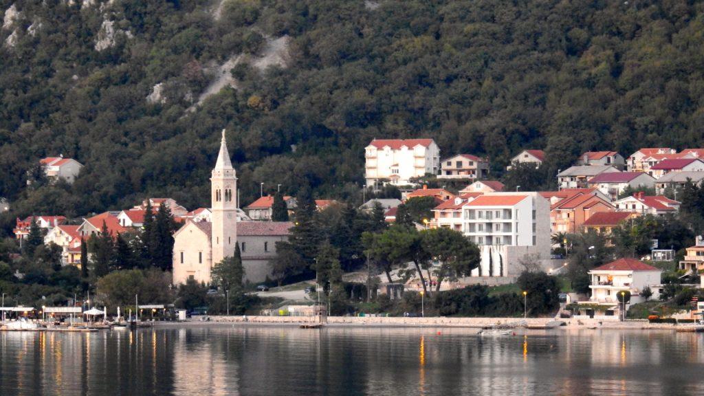 Sailing out of Kotor Bay, Montenegro at sunset. www.gypsyat60.com
