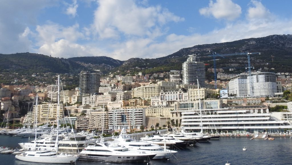 The Pristine waters and million dollar yachts at Monte Carlo Harbour, Monaco. www.gypsyat60.com