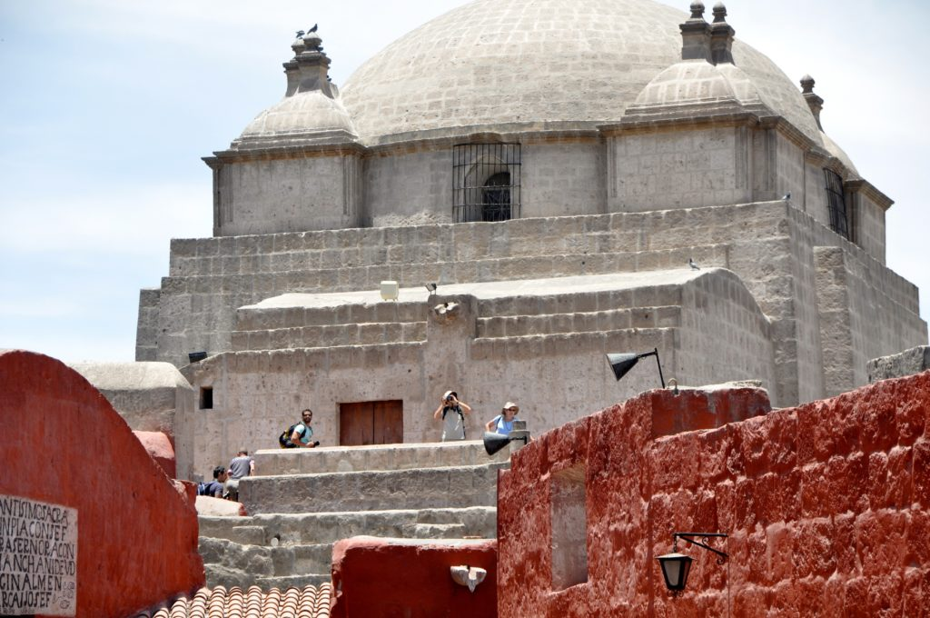 Climb the wall of the church for a spectacular view of the monastery, the city and the mountains beyond. www.gypsyat60.com