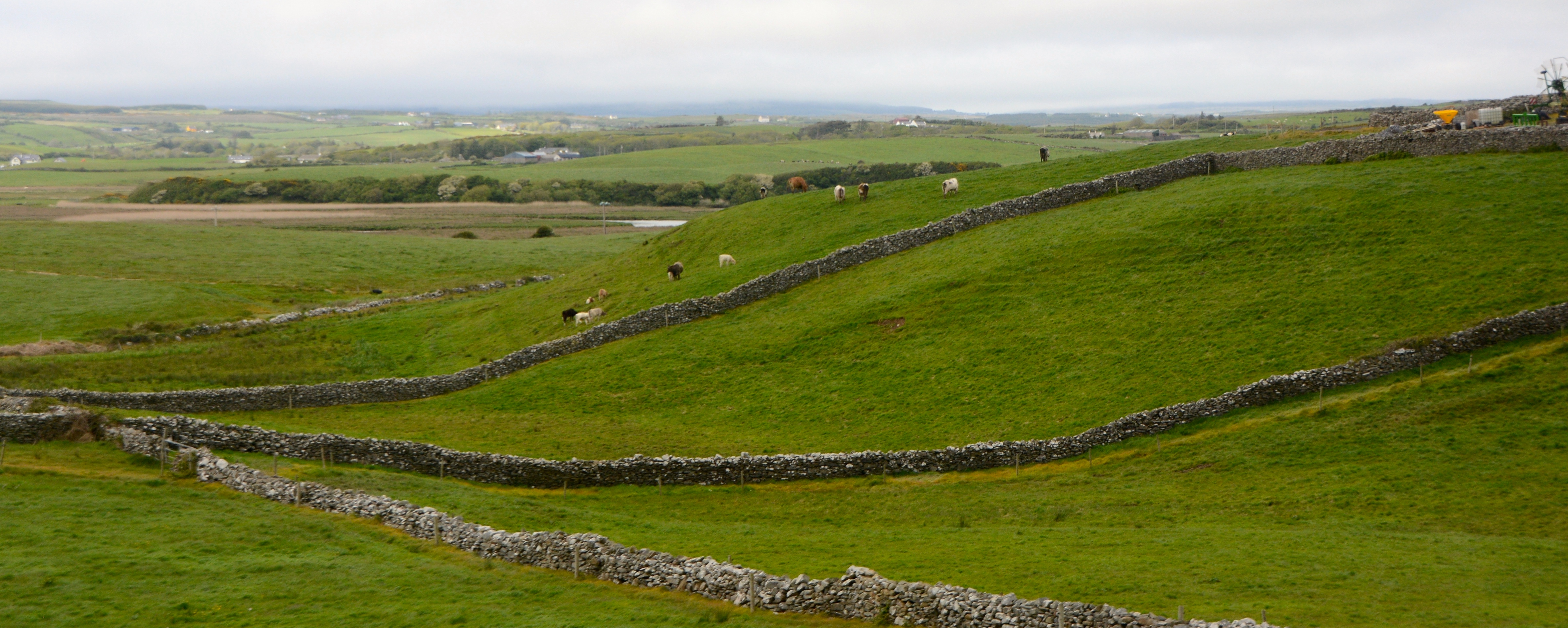 The stone walls of the Irish countryside. www.gypsyat60.com