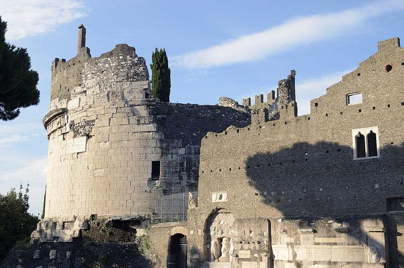 Tomb of Cecilia Metella and medieval Caetani Castle along the Appian Way. www.gypsyat60.com