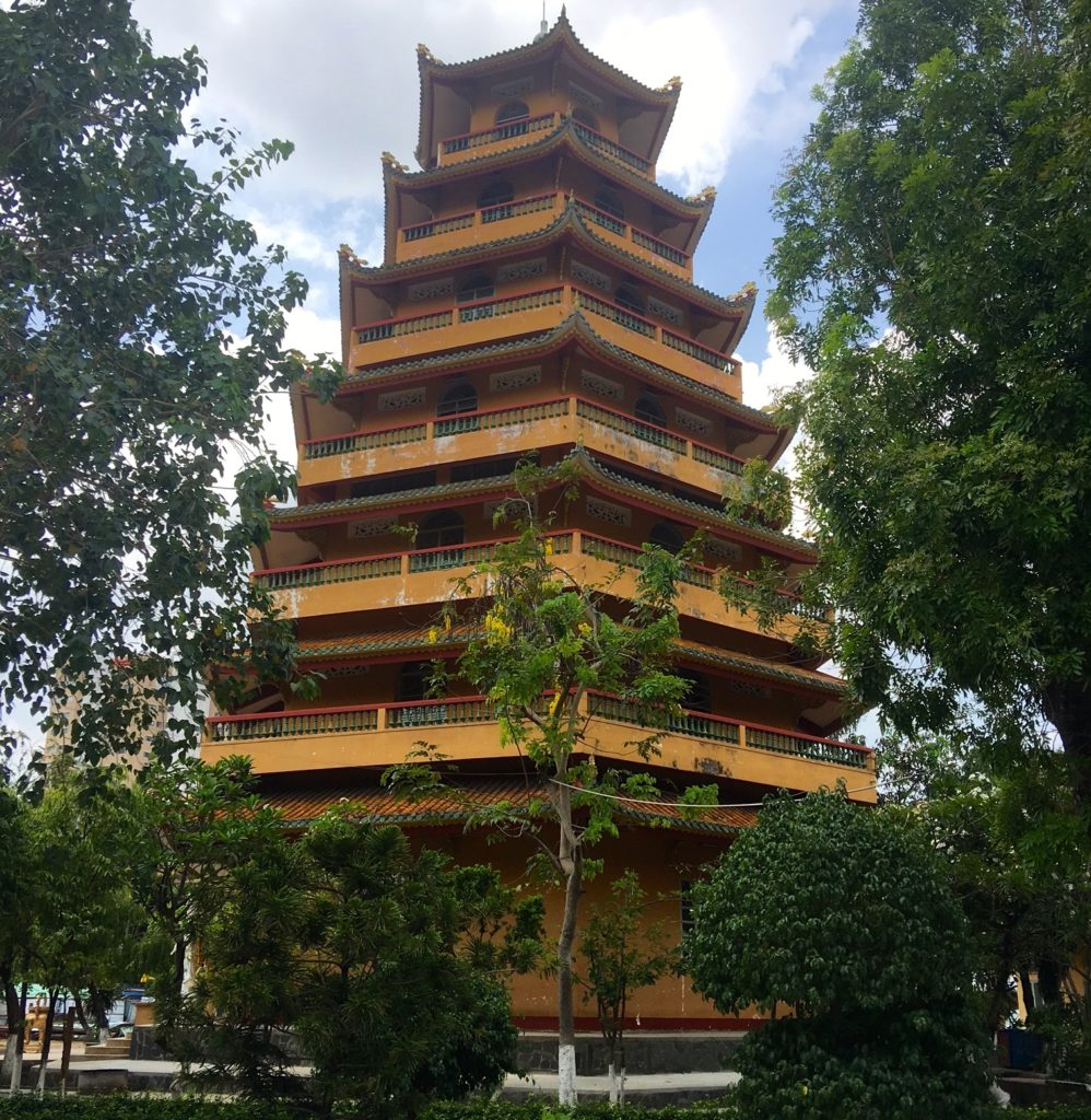 Giac Lam Pagoda in District 5, Ho Chi Minh City. The oldest Buddhist temple in the old Saigon, Vietnam. www.gypsyat60.com