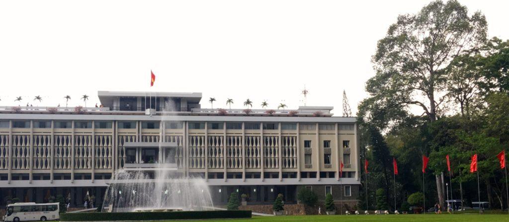 Reunification Palace, Ho Chi Minh City, Vietnam. www.gypsyat60.com