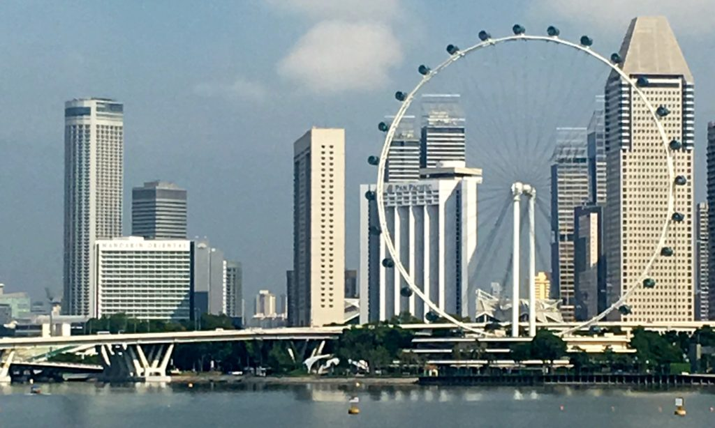 Singapore Flyer - at 165m high is the second highest in the observation wheel in the world. www.gypsyat60.com