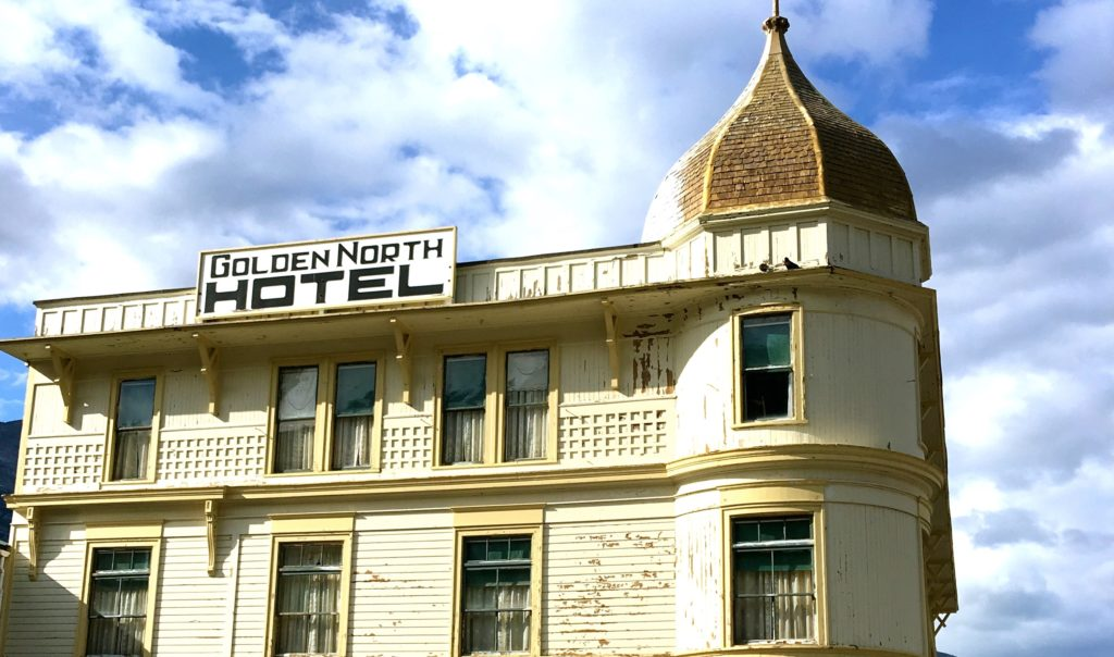 Golden North Hotel, Skagway. Once there were 80 bars in the town! www.gypsyat60.com
