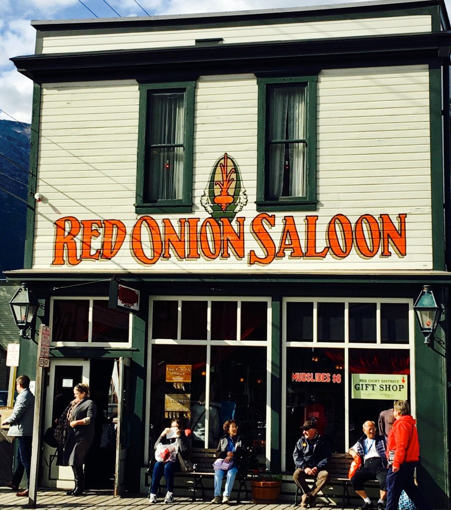 Red Onion Saloon - the most popular pub in Scagway, Alaska. www.gypsyat60.com