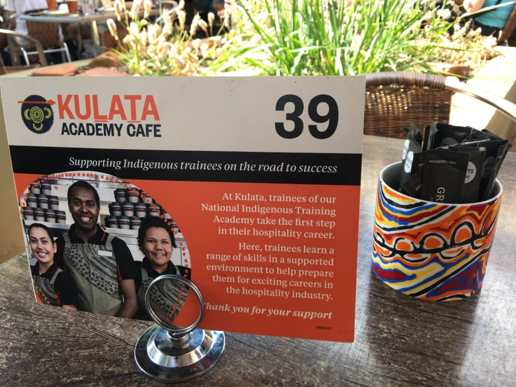 Kulata Academy Cafe, Ayers Rock Resort. www.gypsyat60.com