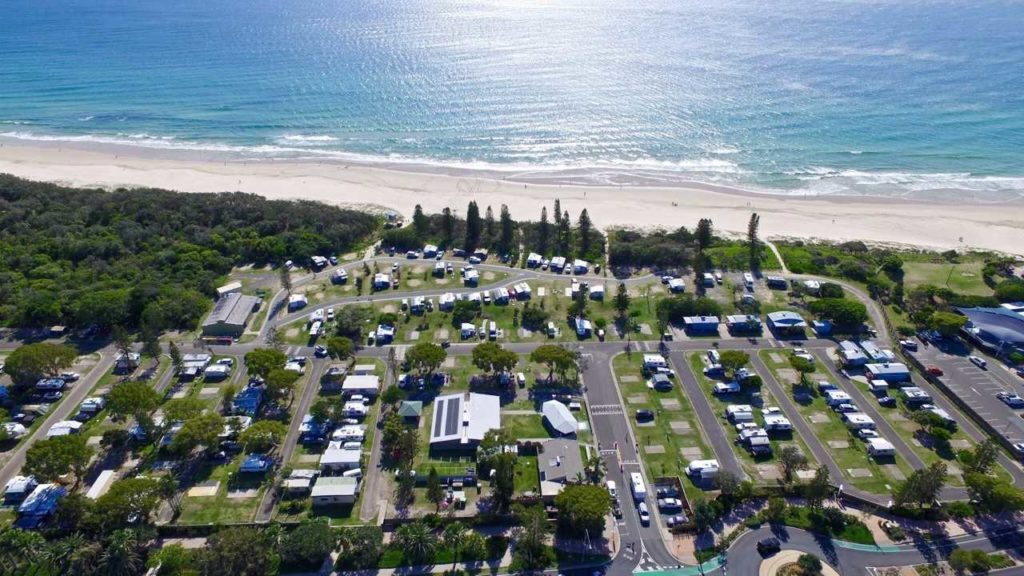 Coolum Beach Holiday Park - almost on the Pacific Ocean! www.gypsyat60.com